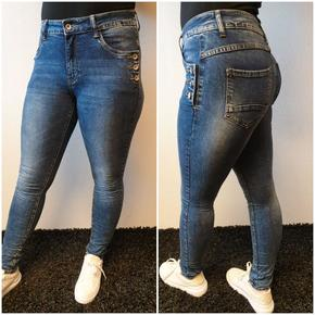 DENIMBUKSE FRA TOXIK MED KULE DETALJER. SUPER STRETCH OG PASSFORM. DENIM